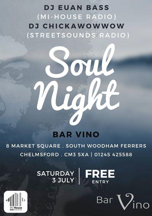 bar vino soul night